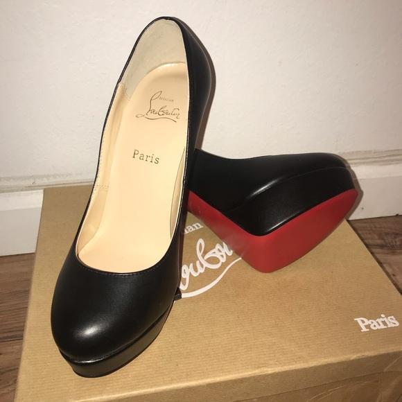 new product fcfcd 47edc Christian Louboutin Black stilettos never worn